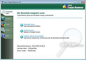 Loaris Trojan Remover Screenshot 2