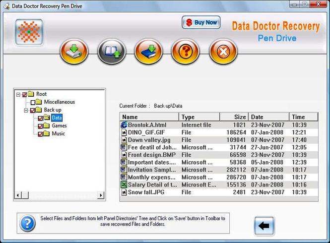 Recover USB Drive Screenshot 1