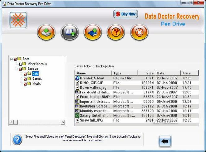 Recover USB Drive Screenshot 2