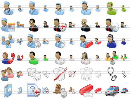 Perfect Doctor Icons Screenshot 1