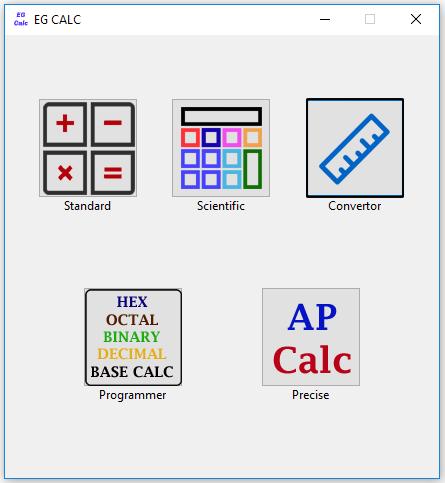 EG Calc Screenshot