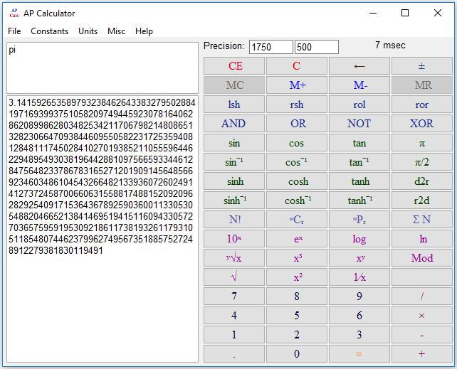 EG Calc Screenshot 6