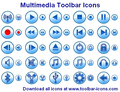 Multimedia Toolbar Icons 1