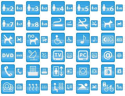 Small Hotel Icons Screenshot 1