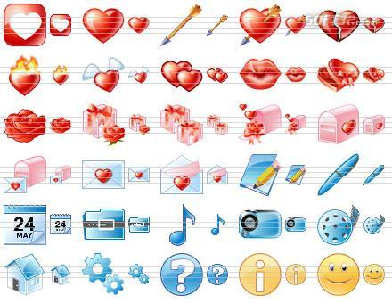 Standard Dating Icons Screenshot 2