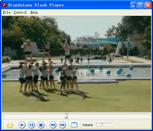 Standalone Flash Player Screenshot