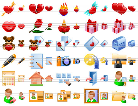 Dating Web Icons Screenshot 1