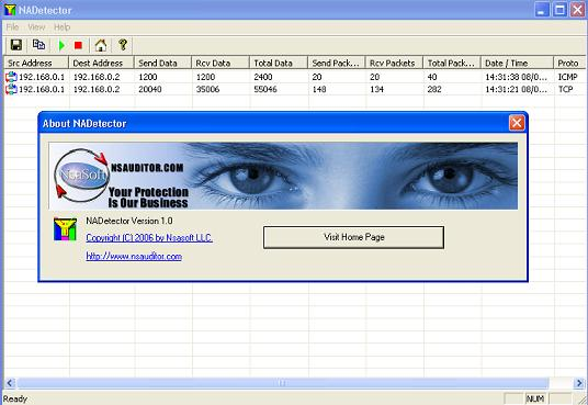 NADetector Screenshot