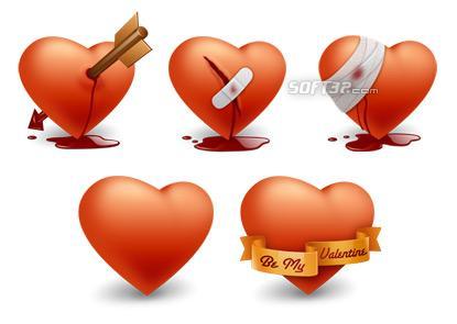 Valentines Day Icons Screenshot