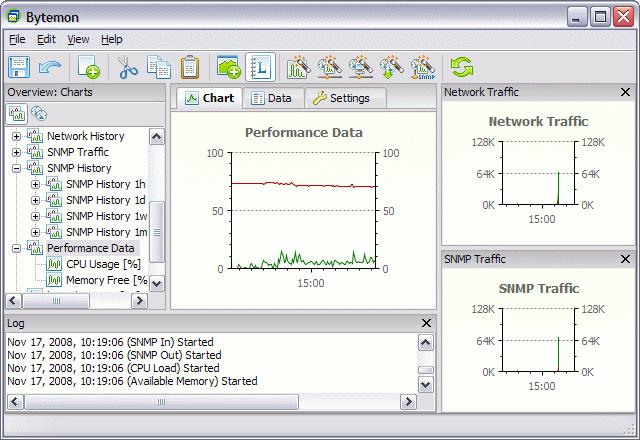 Bytemon Network & Resource Monitor Screenshot 1