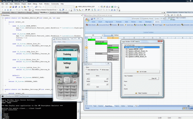 Logic Builder for Windows Mobile SDK Screenshot