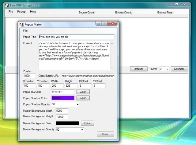 Easy PHP Encrypt Screenshot 1
