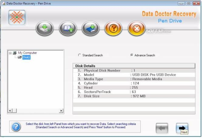 Keychain Drive Recovery Screenshot 2