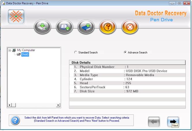 Keychain Drive Recovery Screenshot