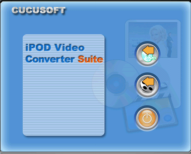 C iPod Video Converter + DVD to iPod V3.0 Screenshot 1