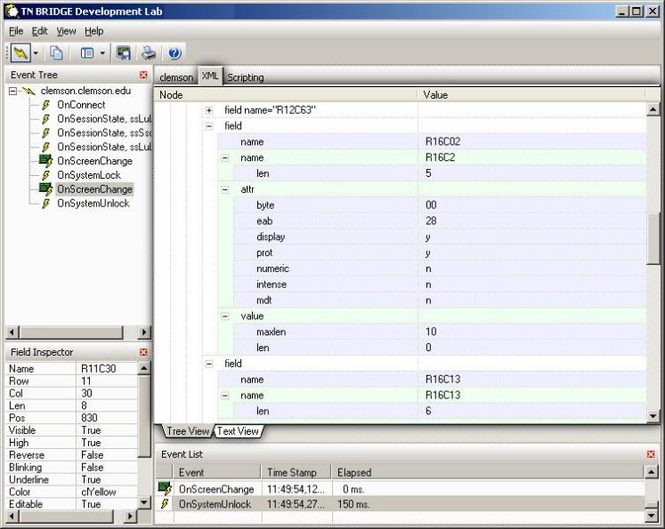 TN BRIDGE Host Integration Pack for ActiveX Screenshot