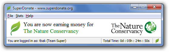 SuperDonate - Mac Screenshot 1