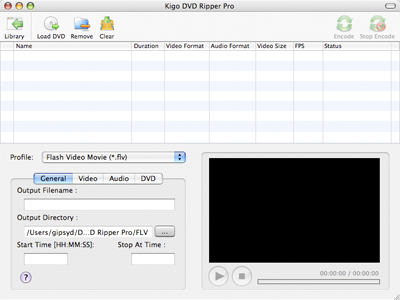 Kigo DVD Ripper for Mac Screenshot