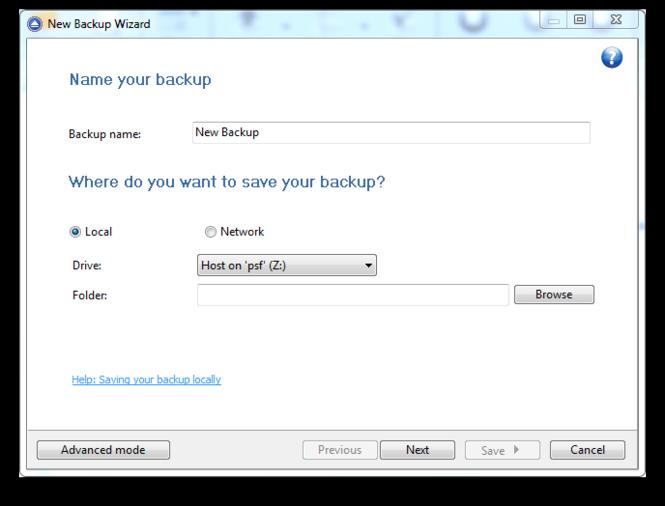 Backup4all Lite Screenshot 3