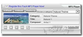 A4Desk Flash Music Player Screenshot 3