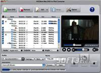 AVCWare Mac DVD to iPod Converter Screenshot 3