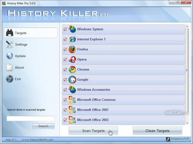 History Killer Pro Screenshot 2