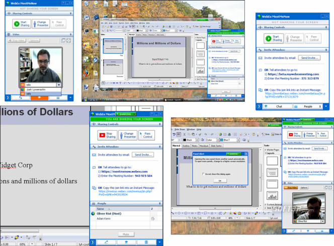 WebEx Meet Me Now Screenshot 1