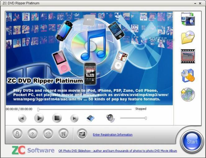 ZC DVD Ripper Platinum Screenshot