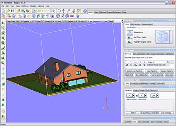Magics Rapid Prototyping Sofware Screenshot 1