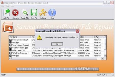 Restore Powerpoint Presentation Program Screenshot 3