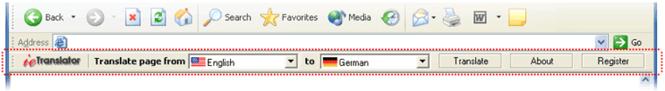 Easy IE Translator Screenshot