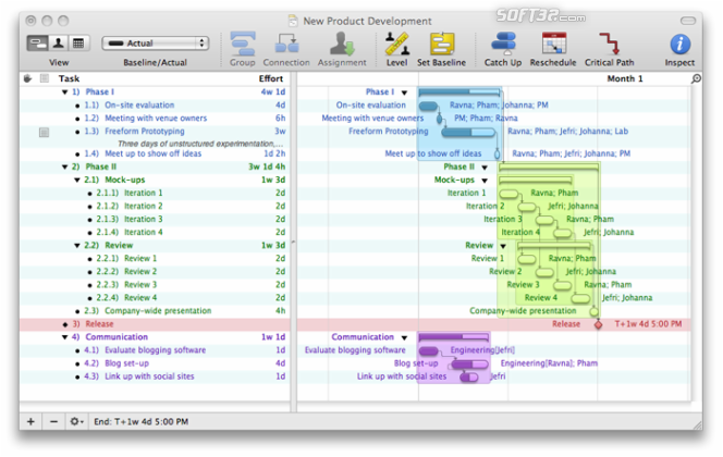 OmniPlan Screenshot