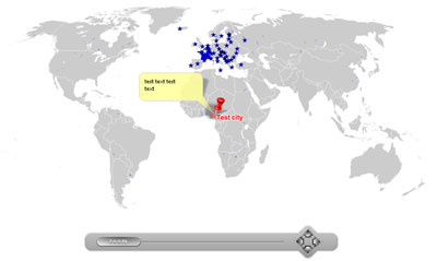 Pinpoint Locator Map of World Screenshot 1