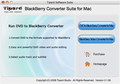 Tipard BlackBerry ConverterSuite for Mac 1