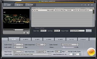 Sog Video Converter Screenshot