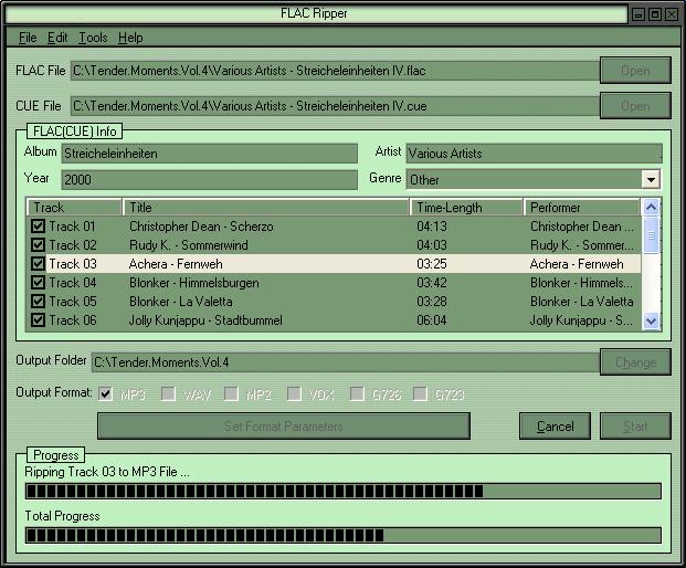 Flac Ripper Screenshot 1