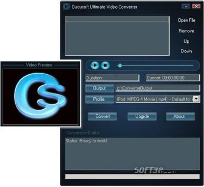 JenoSoft Ultimate Video Converter Screenshot