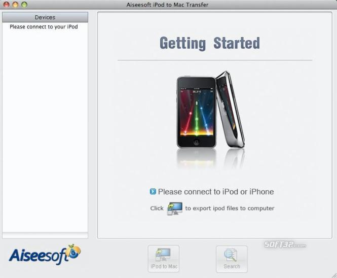 Aiseesoft iPod to Mac Transfer Screenshot 4