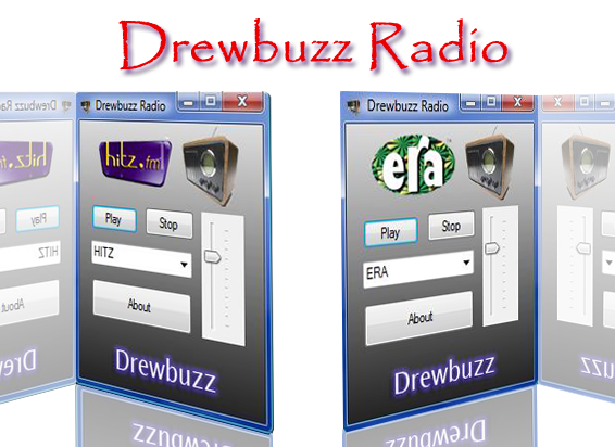 Drewbuzz Radio Screenshot