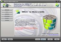 DBSync for SQLite & MySQL Screenshot 2