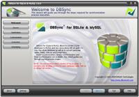 DBSync for SQLite & MySQL Screenshot