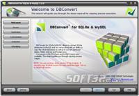 DBConvert for SQLite & MySQL Screenshot 2