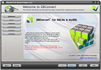 DBConvert for SQLite & MySQL Screenshot 1