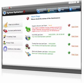 System Optimizer Screenshot 1
