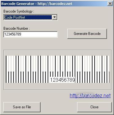 Barcodez Barcode Generator Screenshot 3