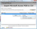 Export Microsoft Access MDB to CSV 1