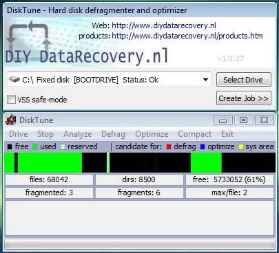 DiskTune Screenshot 1