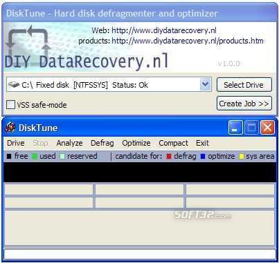 DiskTune Screenshot 2