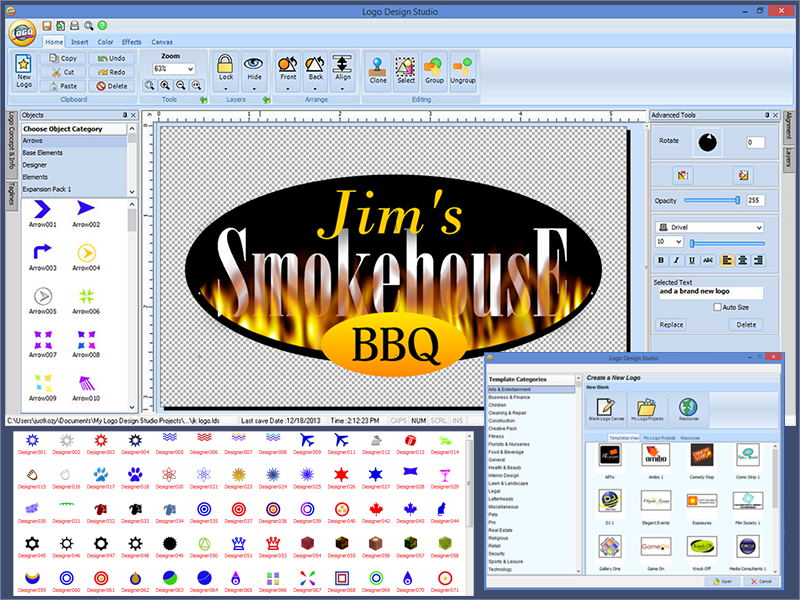 Logo Design Studio Screenshot 2