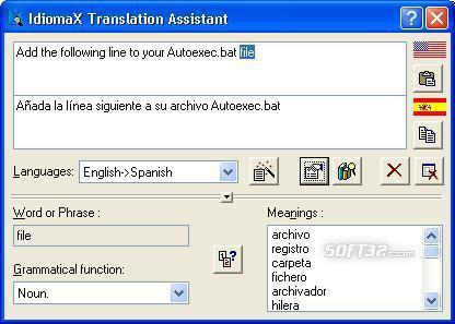IdiomaX Web Translator Screenshot 2